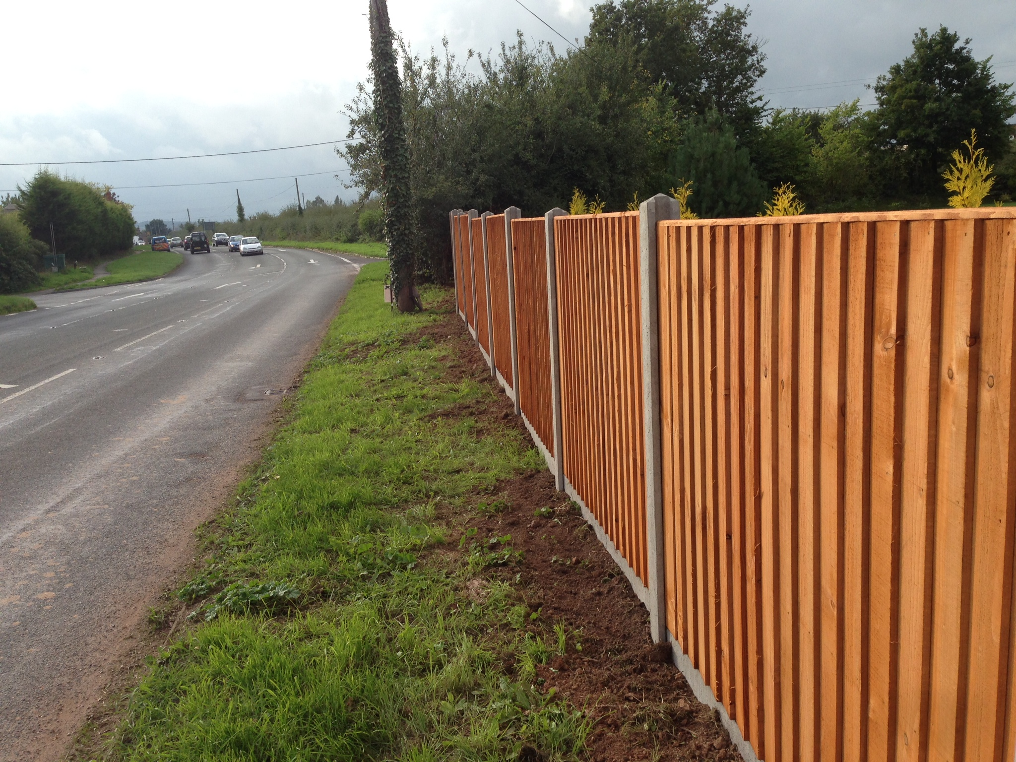New Panel Fencing