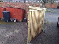 bi folding gates