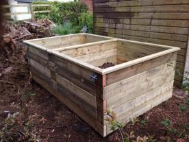 Bespoke compost bins