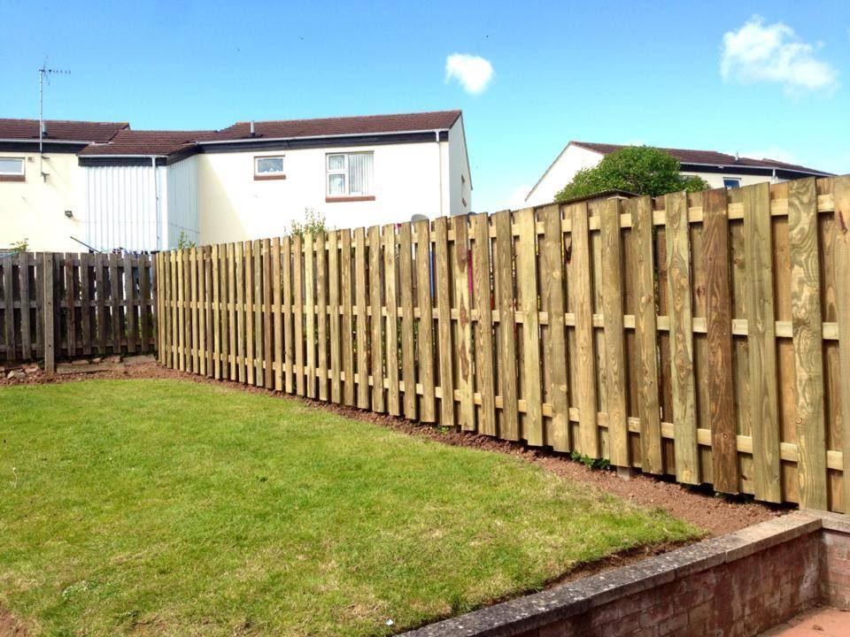 Examples Of Garden Fencing Projects We Have Completed