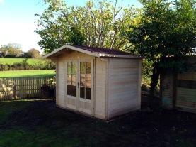 Finished summer house